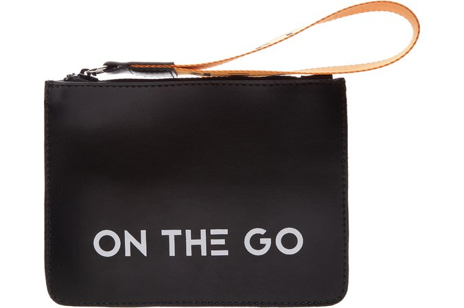 Clutch On The Go Preta | Fiever