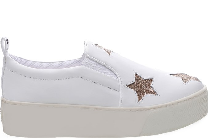 Tênis California Stars Slip On Branco | Fiever